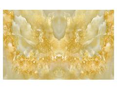 大理石纹拼花陶瓷艺术电视背景墙_3d微晶石亮光黄石玉电视背景墙-- 浙江汉农建设有限公司