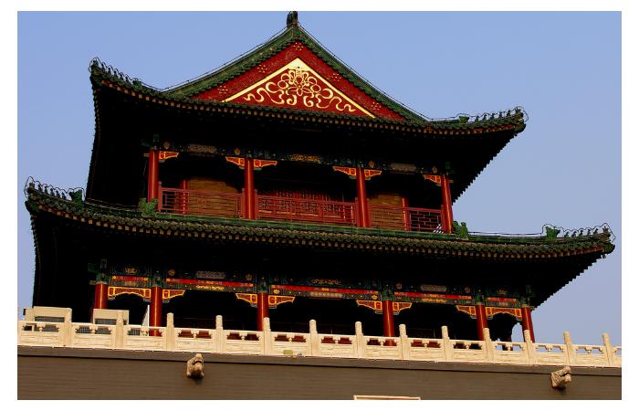 浅谈唐代建筑的主要特性