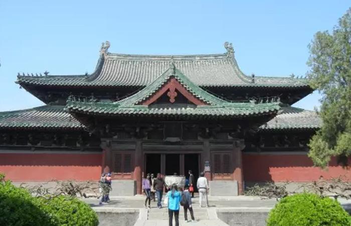 我国现存最早的木结构建筑实物是唐代建筑