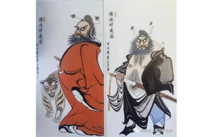 上城区文化馆引入民俗书画家黄高厅画展——让传统民俗丰富城现代生活