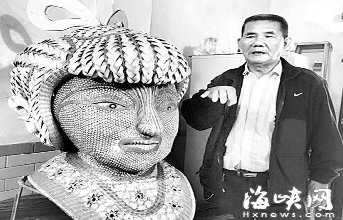 """泉州非遗传承人 竹编""""花木兰""""挑战新极限"""