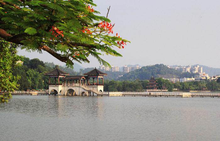 惠州西湖的灵魂人物—苏东坡