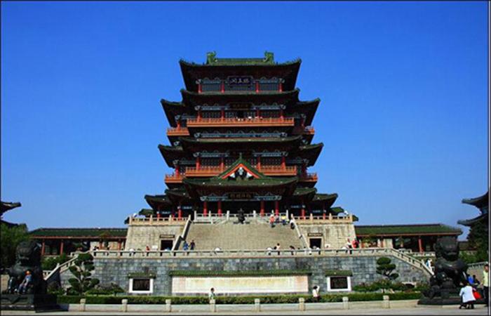 中国最美六大名楼——南昌滕王阁