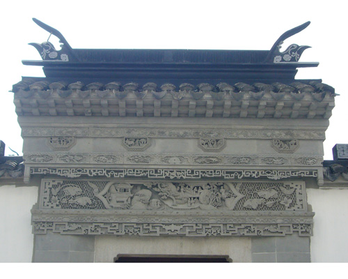 砖雕门楼_古建砖雕门楼_古建砖雕门楼价格--苏州太湖国家旅游度假区香匠古建雕刻厂