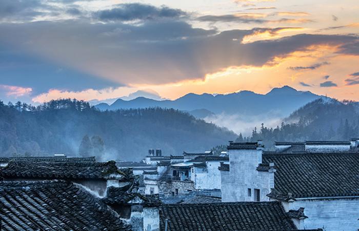 皖南古村落丨西递、宏村——徽派文化的活化石