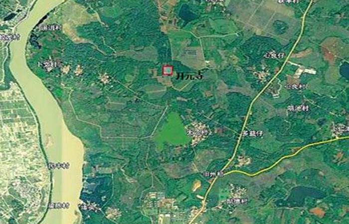 海南海口旧州发现唐朝开元寺遗址
