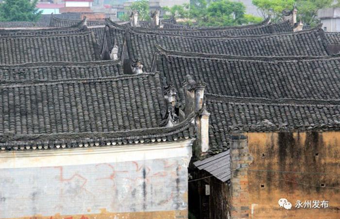 湖南永州零陵发现明清巨大古院落,古建筑房屋150座!