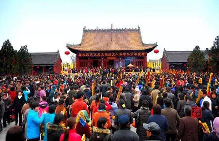 河南淮阳太昊陵庙会——香火最旺的庙会