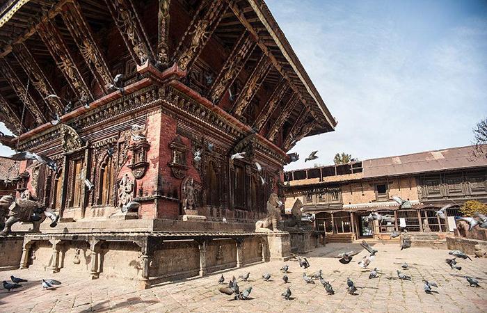 尼泊尔九层神庙启动保护修复