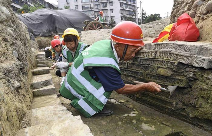 """堙藏千年的著名古寺 在成都市中心""""现身"""""""