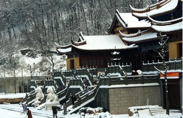 中国寺庙园林建筑的文化内涵