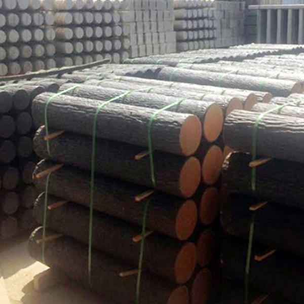 仿松木桩 水泥仿木桩 混泥土仿木栏杆、树桩(元/米)--上海礼康景观工程有限公司