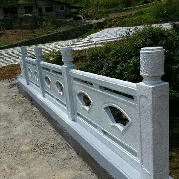 仿石栏杆_花岗岩石栏杆_石材栏杆价格_仿石护栏(元/米)--上海礼康景观工程有限公司