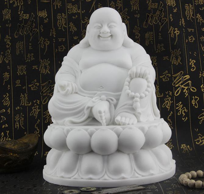 树脂工艺品摆件 人造汉白玉佛像人造汉白玉石材 加工定制--重庆石盟石文化发展有限公司