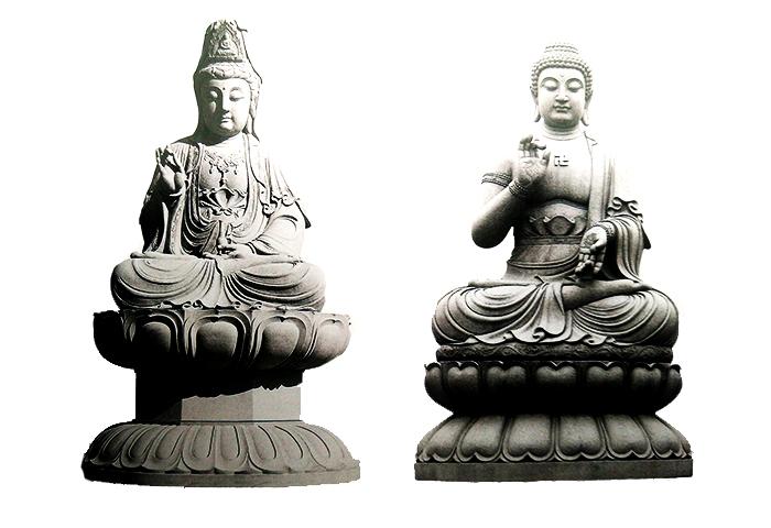 石雕如来佛_石雕观音雕像系列--湖北品石工艺石材制品有限公司