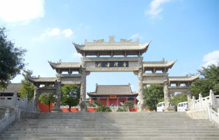 西安香积寺——唐代著名的樊川八大寺之一