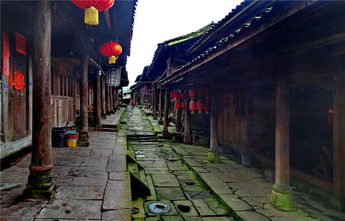 中国最原生态的古镇——望鱼古镇