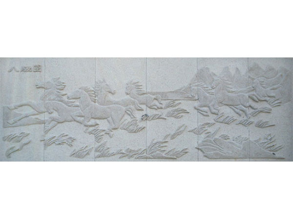 石材浮雕马群_石材浮雕八骏图_石材浮雕价格--江西益诚石业有限公司