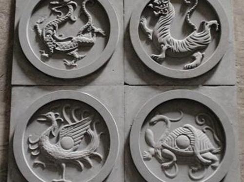 圆形动物图案砖雕_圆形砖雕图案_圆形砖雕价格--万荣县京润建材销售有限公司