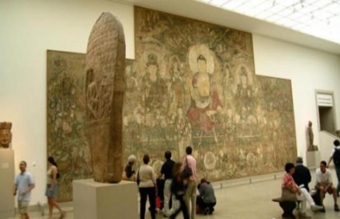 """流失海外的元代晋南寺观壁画以这样的方式""""回归"""""""