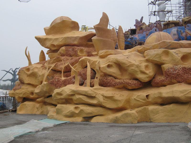 园林景观假山塑石施工设计--长沙艺轩雕塑有限公司