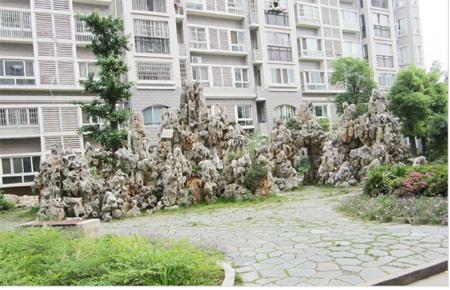 华庭二三期园林景观施工设计--湖南长浏园林集团