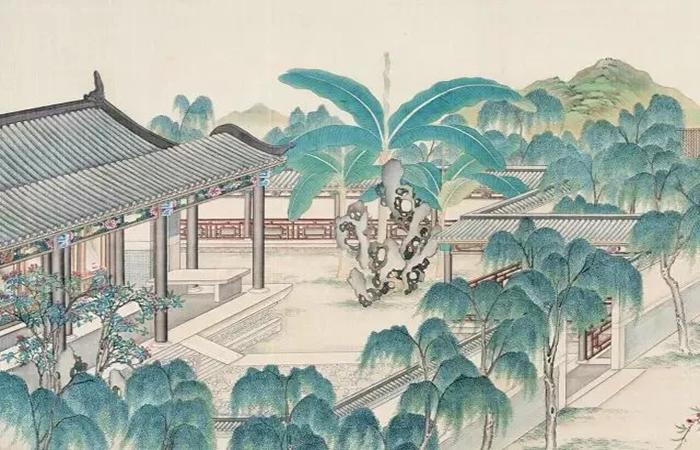 中国庭院文化的浪漫艺术