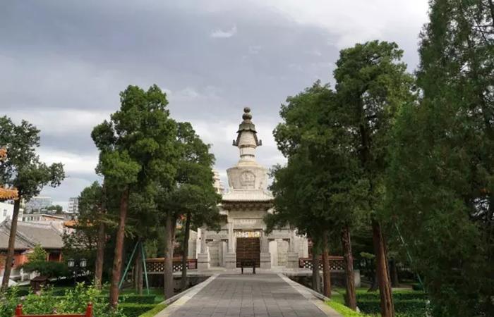 佛塔佳作——西黄寺清净化城塔