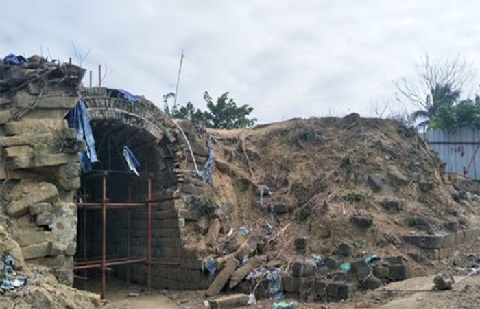 儋州唐代古城墙修缮缓慢 居民危房无法翻新成难题