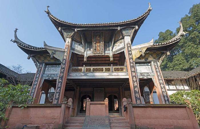 四川法王寺——千年古刹,皇家寺庙