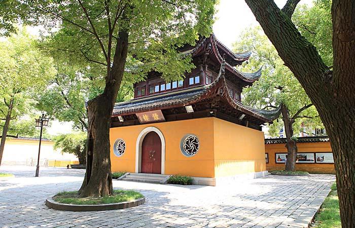 西园寺——苏州市内规模最大的寺院