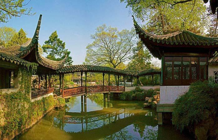 曲水流觞——苏州园林的水文化