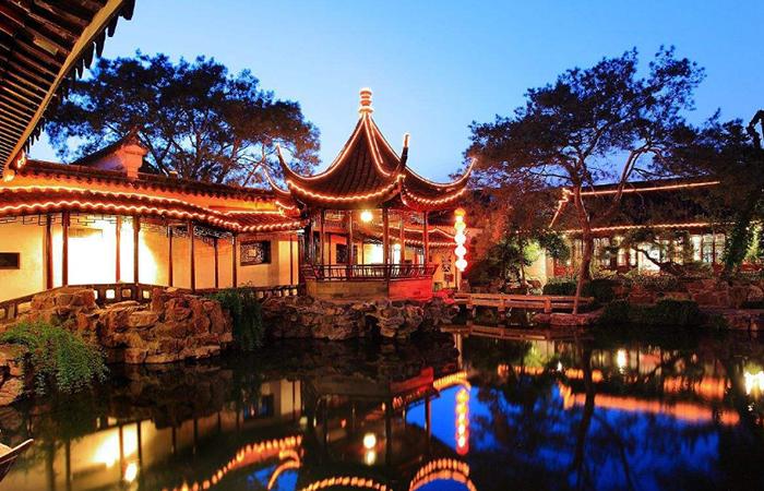 中国传统园林中的建筑元素