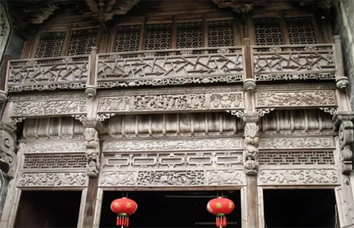 中国古建筑丨惊艳世人的七大木雕流派