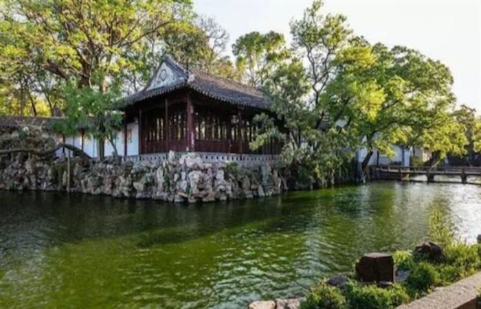 苏州最古老的园林——沧浪亭