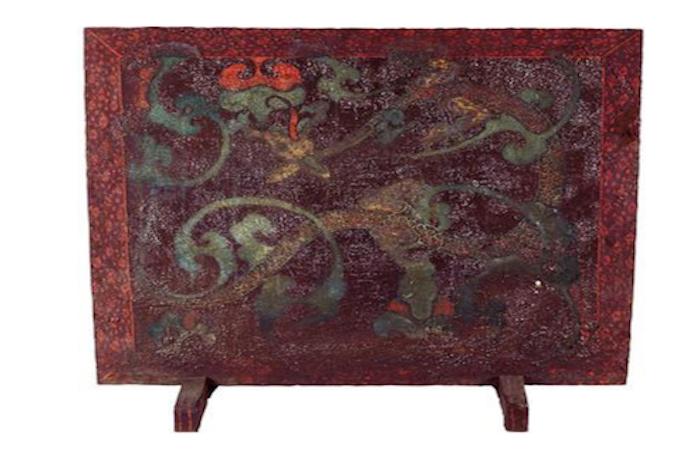 鉴赏:西汉·彩绘漆屏风