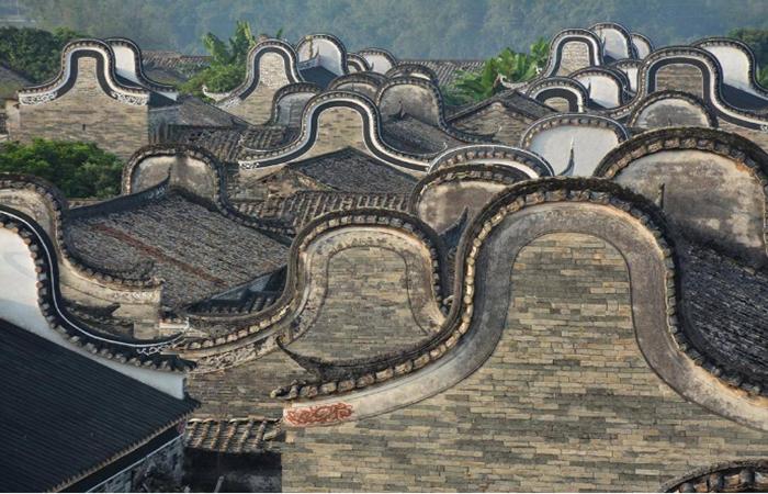 建筑文化︱岭南建筑之锅耳屋