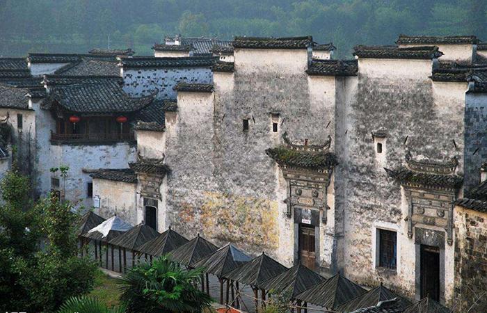 西递村古建筑群:建筑风格在徽派中独树一帜