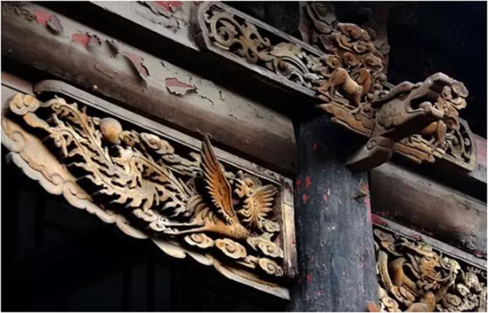 中国古代建筑文化中的雀替之美