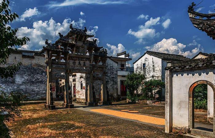 建筑文化︱许村古建筑群——闻名遐迩的中华古村落典型