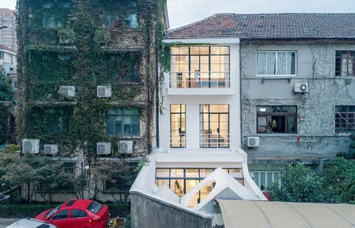 上海深巷老房子的改造,天壤之别