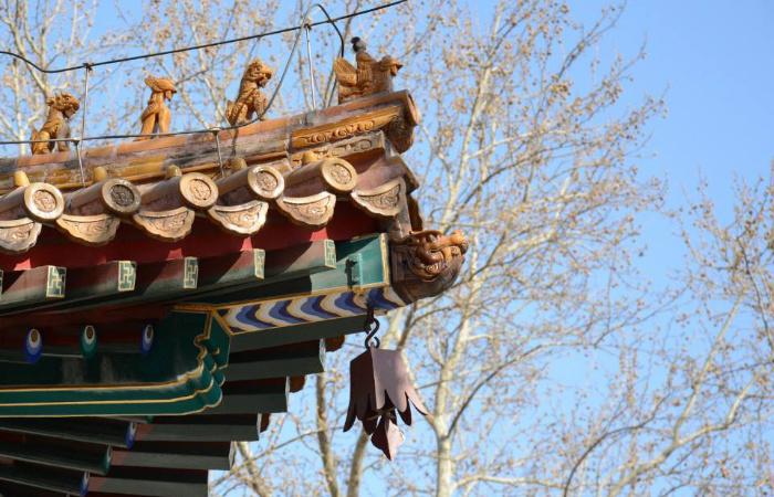 """佛教寺院屋檐下""""小铃铛""""的作用"""