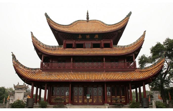 【百科全书】传统古典建筑屋顶三部分组成等级