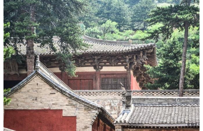 唐代建筑的几个外观特征分析!