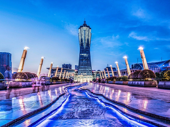 杭州地标•环球中心,单价仅售3.4W!