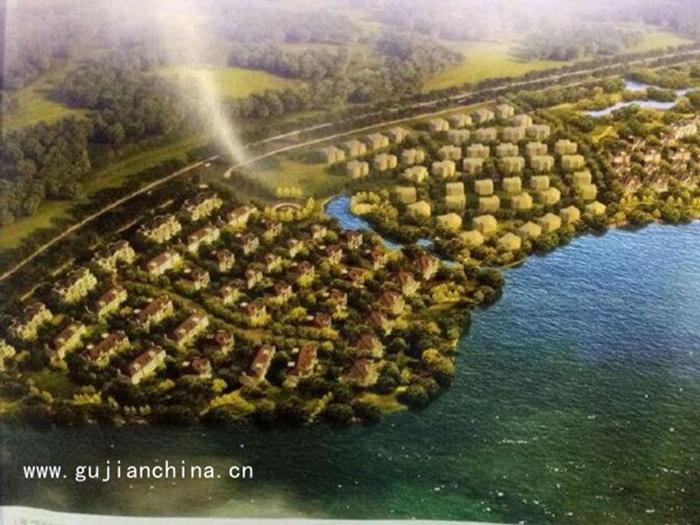 上海淀山湖181亩别墅用地项目转让