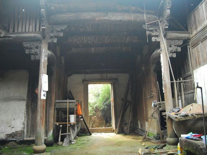 乾隆年间将军古建老宅330平方出售,俗称三进两天井