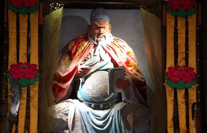 独特的三国文化,韩城东营庙