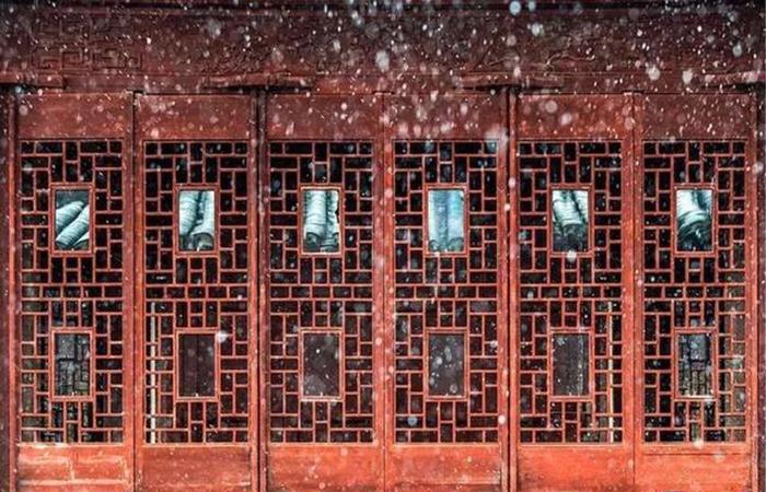 窗棂,是一扇推开四季推开心灵的窗户