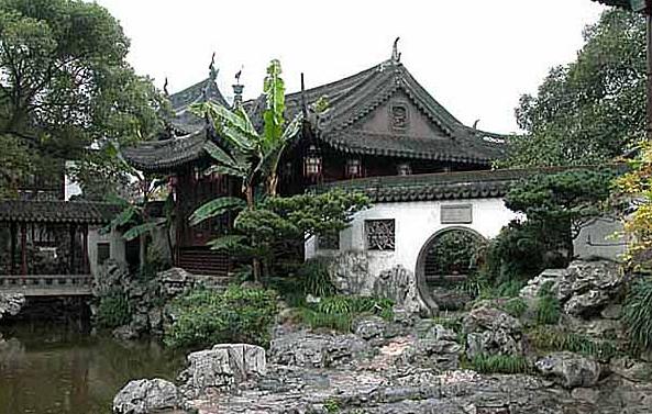 上海豫园商城仿古装修